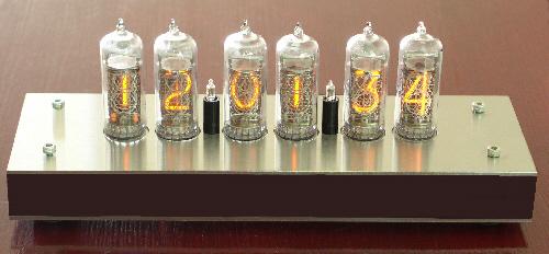 Nixie Clock Kit IN14-6-V1
