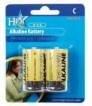 Battery C, HQ Alkaline 1.5V 2X