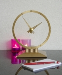 Jefferson Mystery Clock Gold