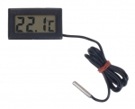 LCD Thermometer Black