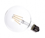 Led Filament Medium Globe Lamp 230V/E27 4W