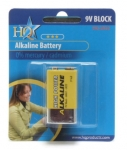 HQ Alkaline Battery 9V
